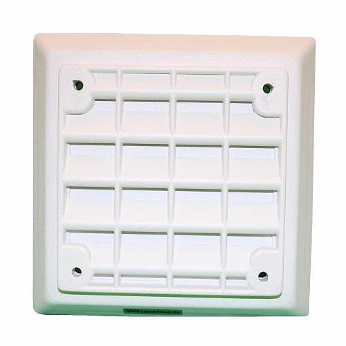 Eaton Wheelock ET-1080-W ET-1010 Vandal Resistant Speaker, Flush Mount, Wall/Ceiling, 25/70V, Indoor, White