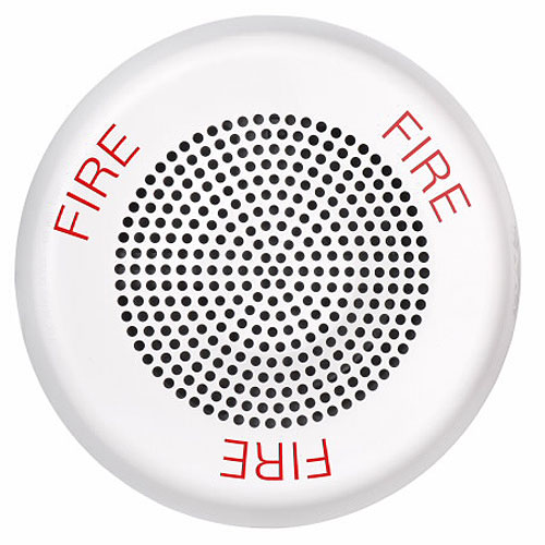 Eaton ELFHNWC Eluxa Low Frequency Horn, White, Ceiling, 24V, FIRE