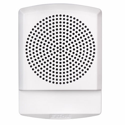 Eaton ELFHNW Eluxa Low Frequency Horn, White, Wall, 24V, FIRE