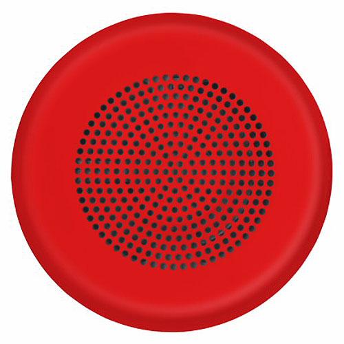 Eaton ELSPKRC-N Eluxa LED High Fidelity Speaker, Red, Ceiling, 24VDC,No Lettering