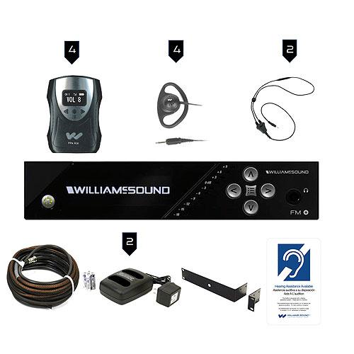 WilliamsAV FM 558 PRO Fm Plus Large-Area Dual FM And Wi-Fi