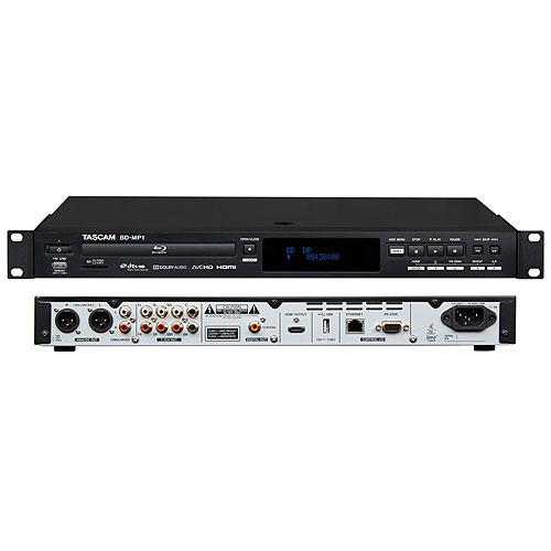 Tascam BD-MP1 Professional-Grade Blu-ray Player