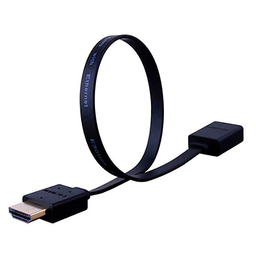 Vanco Super Flex Flat HDMI High Speed Male to Female Cable with Ethernet