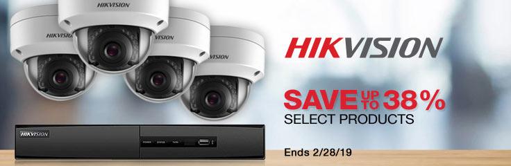 Hikvision Amazing Deals