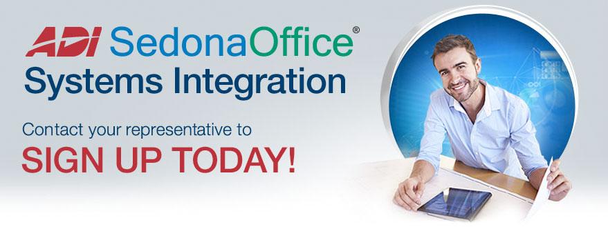 ADI SedonaOffice® Systems Integration