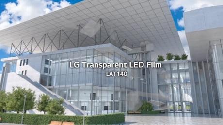 LG 14mm Transparent LED Film