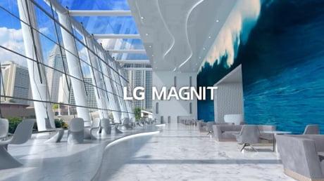 LG MAGNIT Micro LED Signage