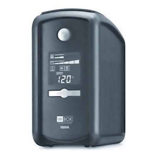 W Box Battery Backup Standby UPS 1000VA/600W Line Interactive UPS