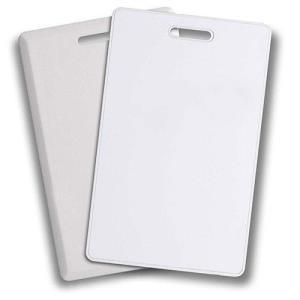 ADI Credentials Clamshell Card, 26-40bit No Card Marking, Seq Matching, Vertical Slot