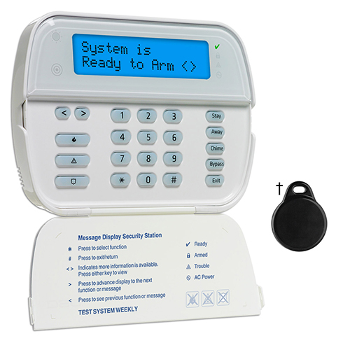 DSC 2-Way Wireless Wire-Free Keypad WT5500