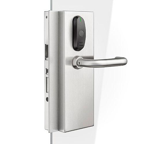 SALTO KS XS4 Original Glass Door - DIN Electronic Lock, Mifareble, Right Hand EB650UGDIM0RHY