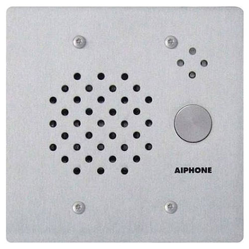 Airphone IE-SS/A 2 Gang Door Station, Flush Mount for use with SBX-2G, Stainless Steel