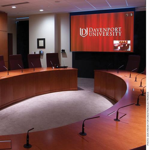 """Draper Access FIT 109"""" Electric Projection Screen"""
