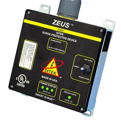 DITEK ZEUS D200-277/4803Y Surge Suppressor/Protector