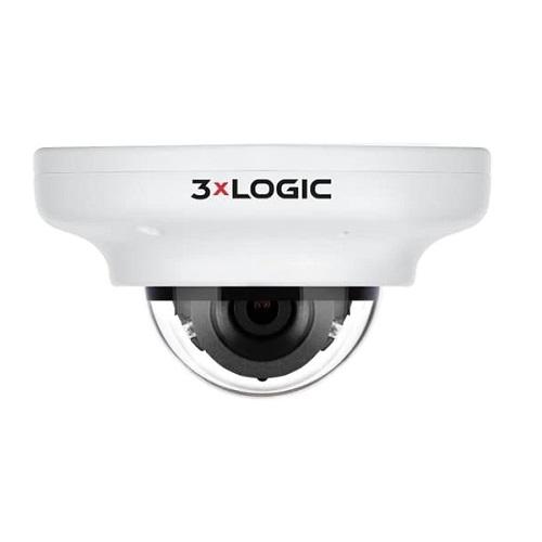 3xLOGIC VISIX Visix VX-5M4-MD-IAW-C128 5 Megapixel Network Camera - Mini Dome