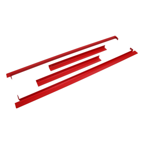 Dvx Size A Semi Flush Flange Red