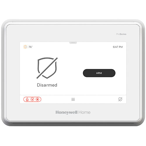 Honeywell Home PROA7 ProSeries Mid-Range 7 in. All In One Panel