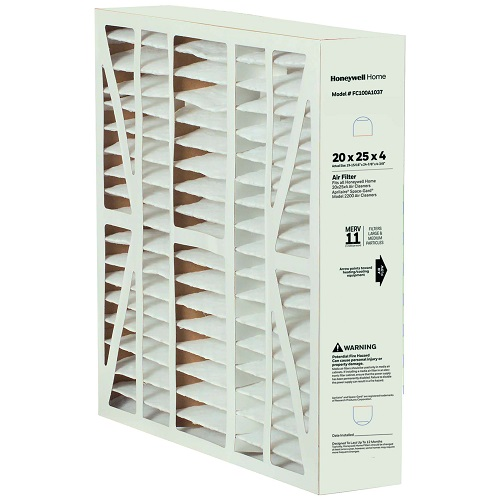 Honeywell Home FC100A1029/U 16X25 Media Air Filter-MERV 11