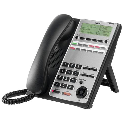 NEC BE110270 SL1100 12-Button Full-Duplex Telephone, Black