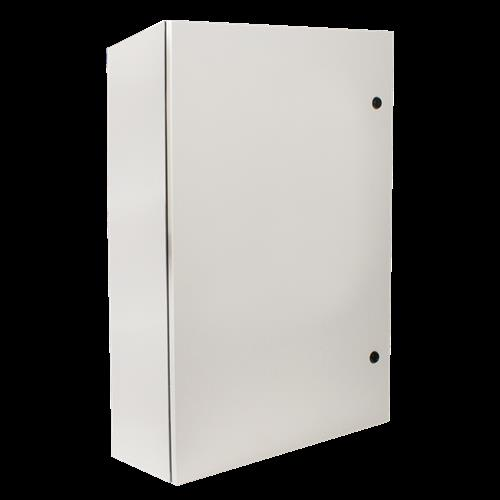Safety Technology Horizontal Mnt Mtl Protective Cabinet W/O Window