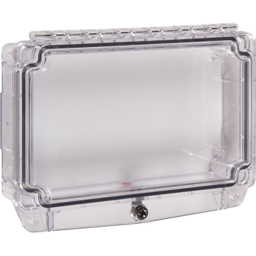 Safety Technology Polycarbonate Cover W/ Gasket, Enclosed Backbox &