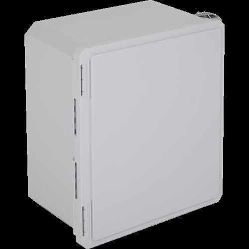 "Safety Technology Enclosure Fiberglass, 16"" X 14"" X 8"", Opaque"
