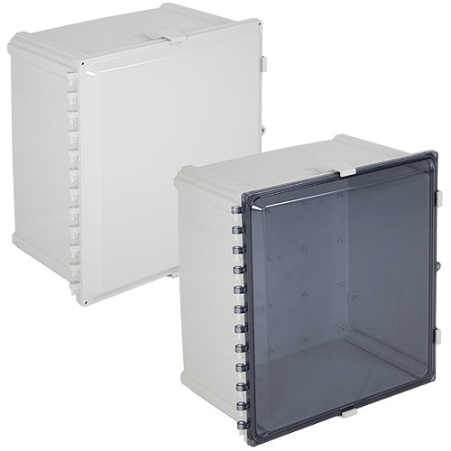 Safety Technology EP242410-T2 EnviroArmour Polycarbonate with A/C and Heat, Tinted, 24 in H x 24 in W x 10 in D