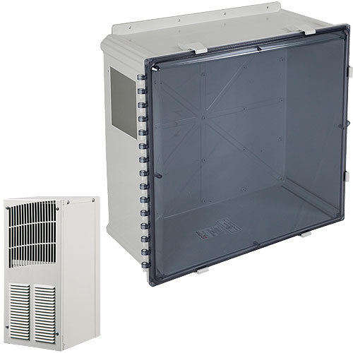 Safety Technology EP242410-T EnviroArmour Polycarbonate, Tinted, 24 in H x 24 in W x 10 in D