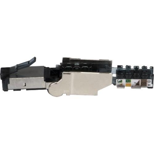 Platinum Tools Cat6A Flex Connector, Shielded