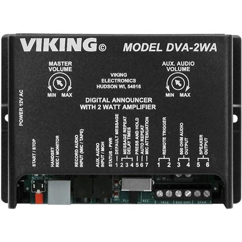 Viking Electronics DVA-2WA Telephone Recorder